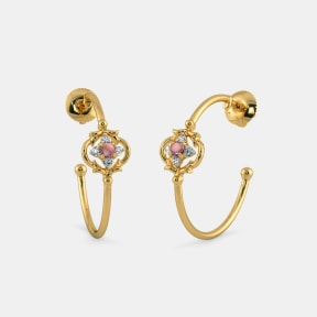 The Splendid Floret Hoop Earrings