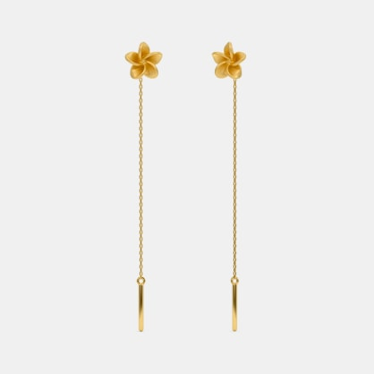 The Temple Tree Threader Earrings