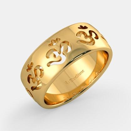 The Yashashvi Om Ring
