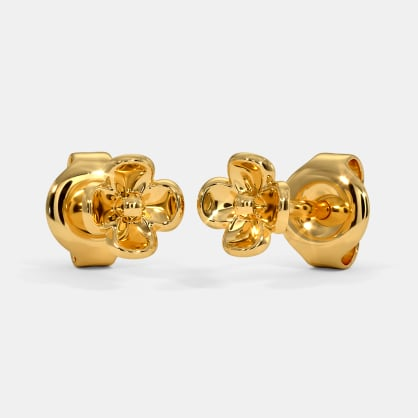 The Kaloni Multi Pierced Stud Earrings