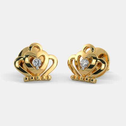 The Crown Jewel Earrings For Kids