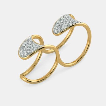 The Dettie Two Finger Ring