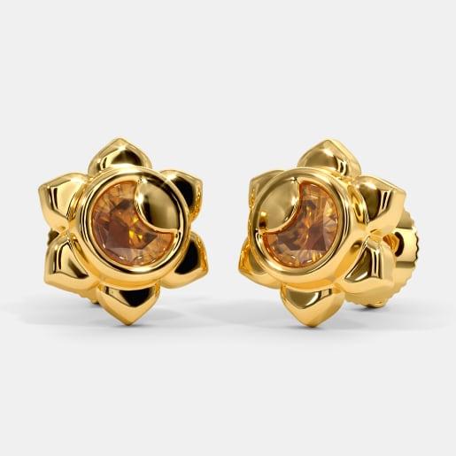 The Solar Plexus Chakra Earrings
