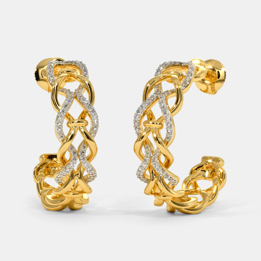 The Oorvi Hoop Earrings