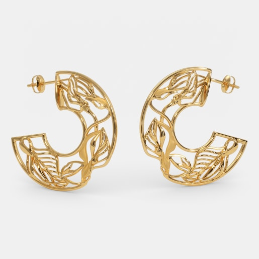 The Callista Hoop Earrings