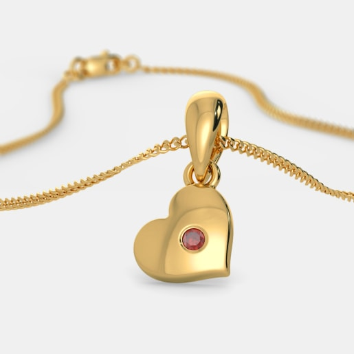 The Truest Heart Pendant For Kids