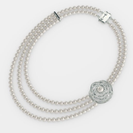 The Pearl Nest Necklace