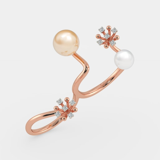 The Pearla Two Finger Ring
