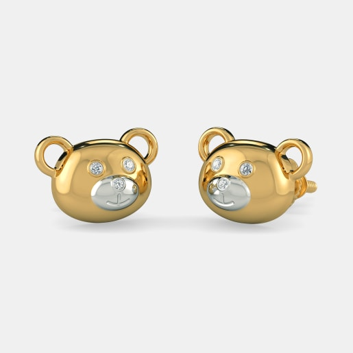 The Bear World Earrings For Kids