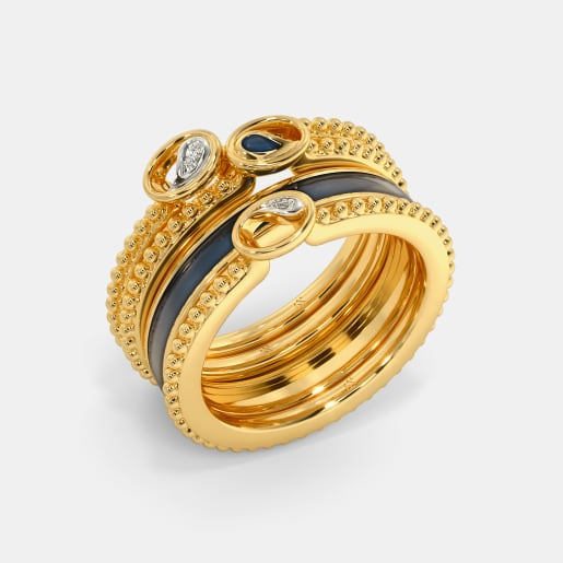 The Ekambar Stackable Ring