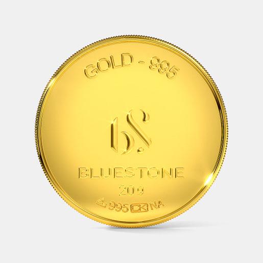 20 gram 24 KT Gold Coin
