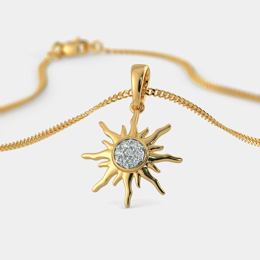 The Glorious Sun Pendant