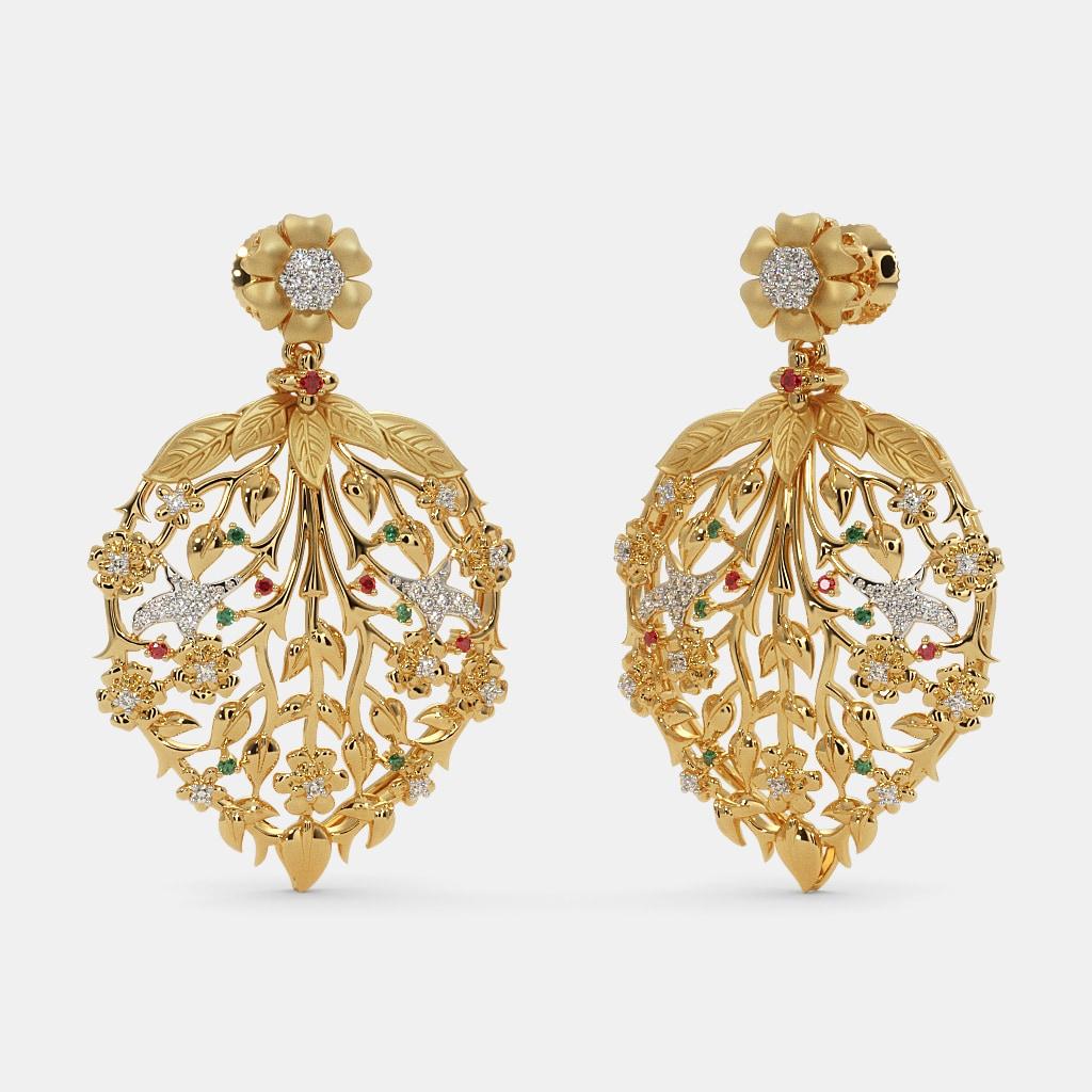 The Chanbeli Drop Earrings