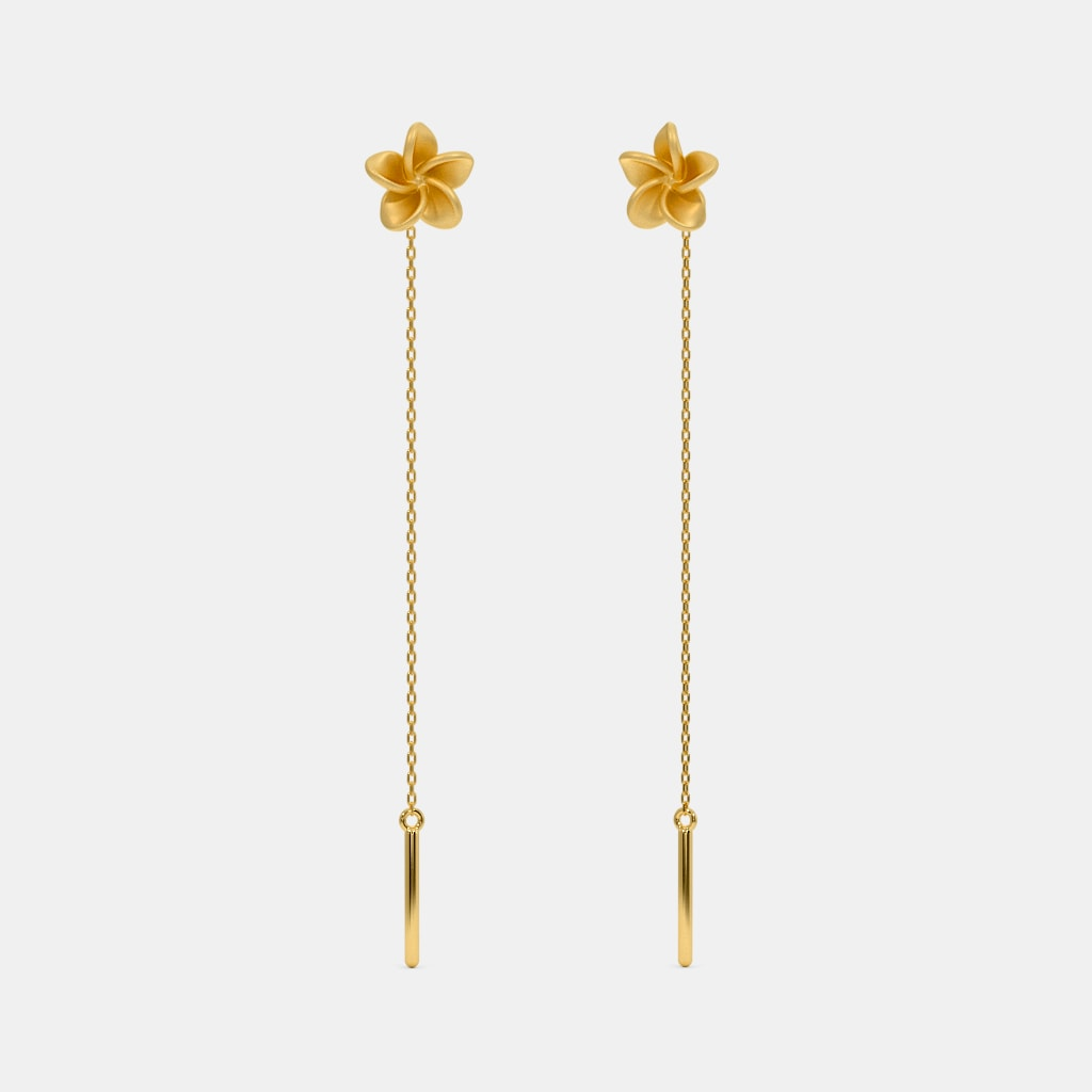 The Temple Tree Threader Earrings