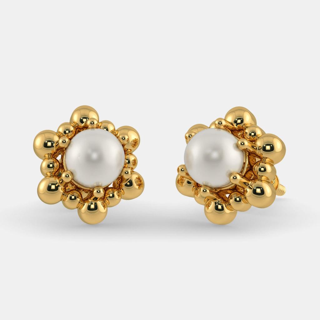 The Adella Earrings Bluestone Com