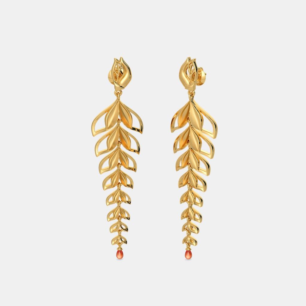 The Isa Long Drop Earrings