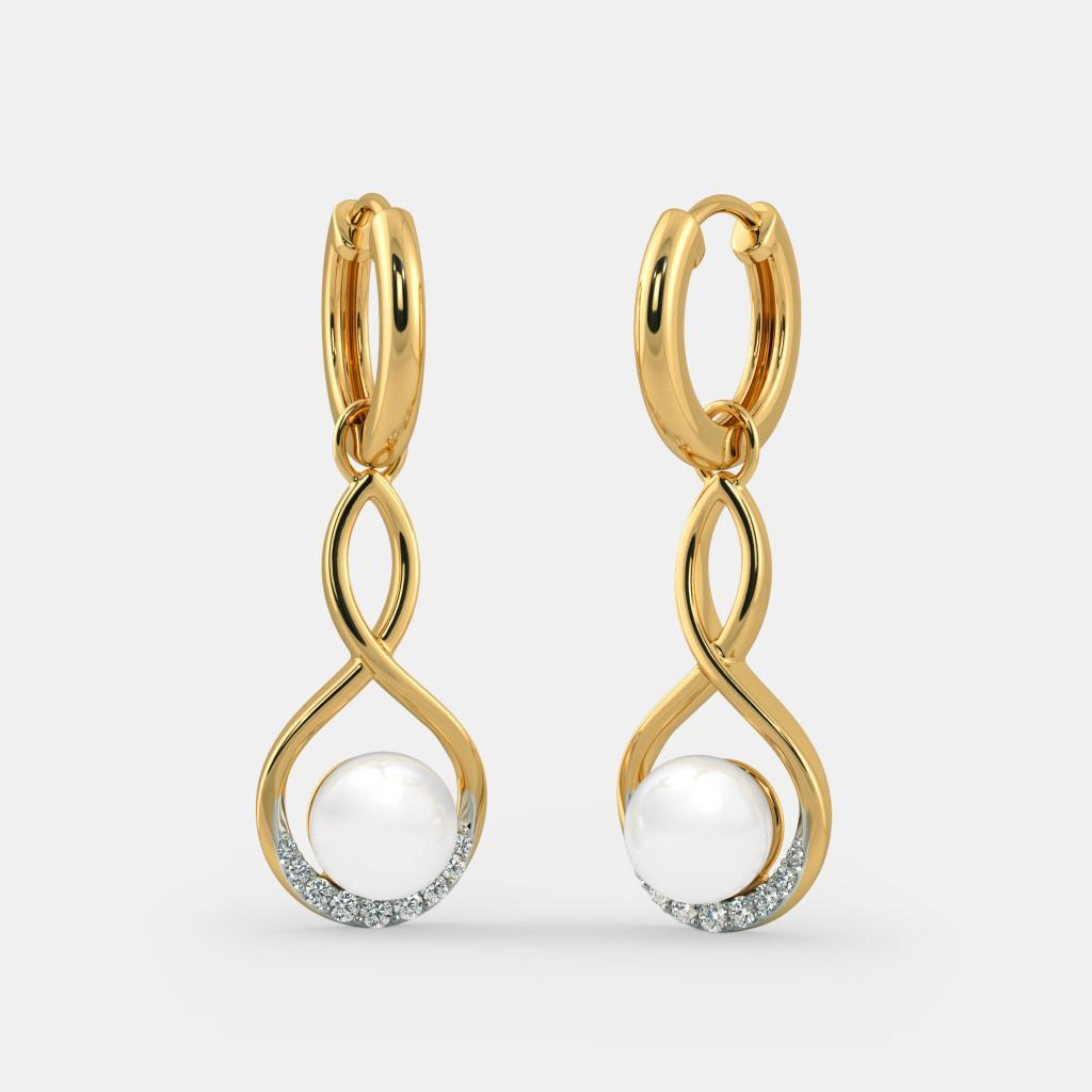 The Aqua Detachable Hoop Earrings