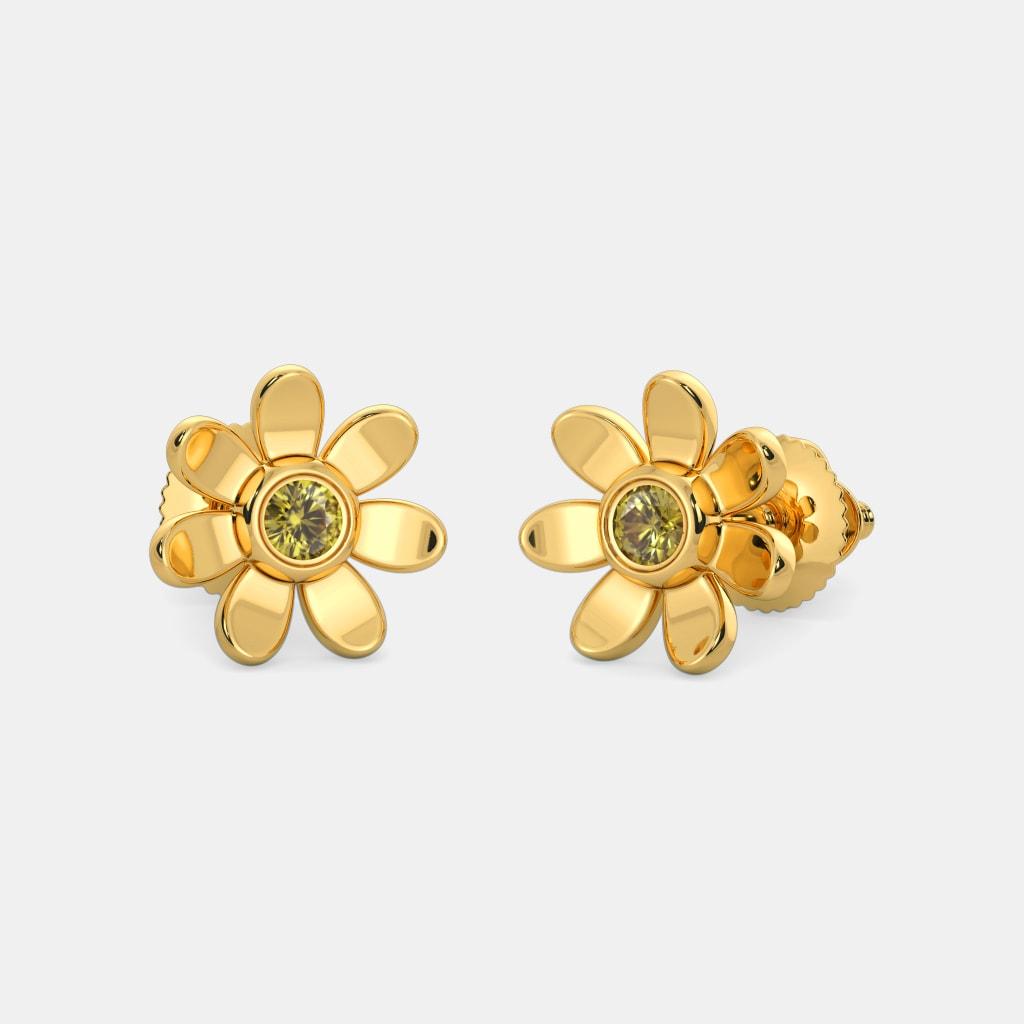 c8fea5f86c1 The Angelic Flower Earrings For Kids