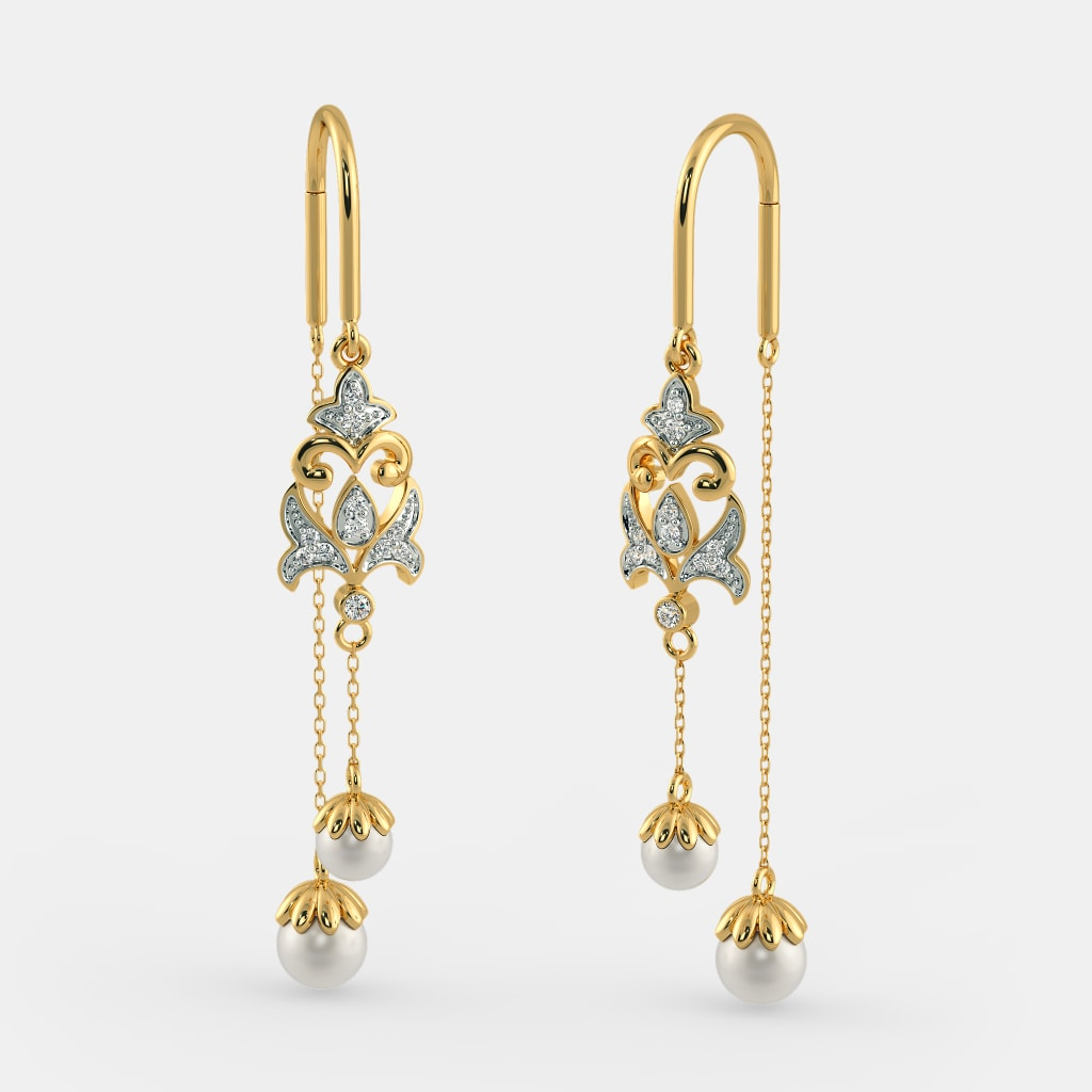 The Nitika Sui Dhaga Earrings Bluestone Com