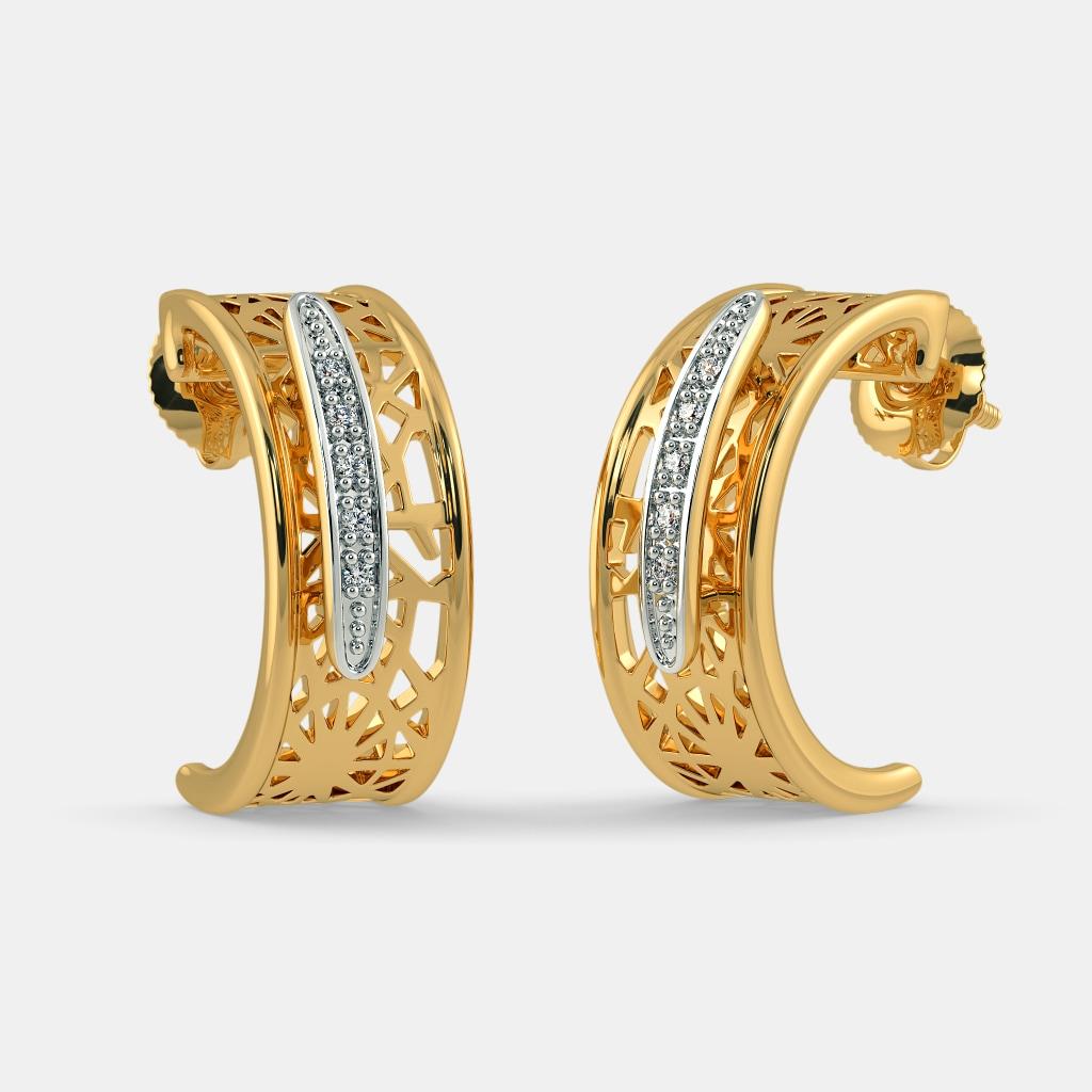 The Riad Hoop Earrings
