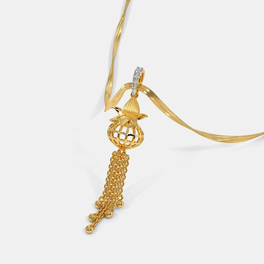 The Amritansh Kalash Pendant