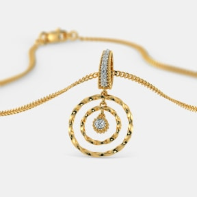 The Barrie Circle Pendant