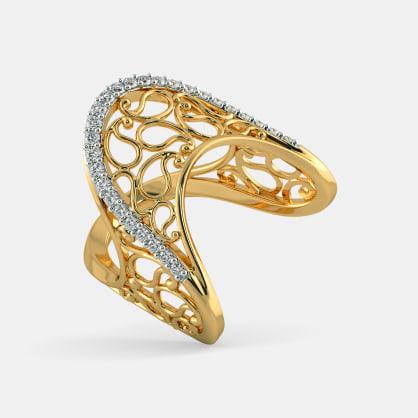 The Amaya Paisley Ring