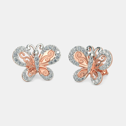 The Rae Butterfly Earrings
