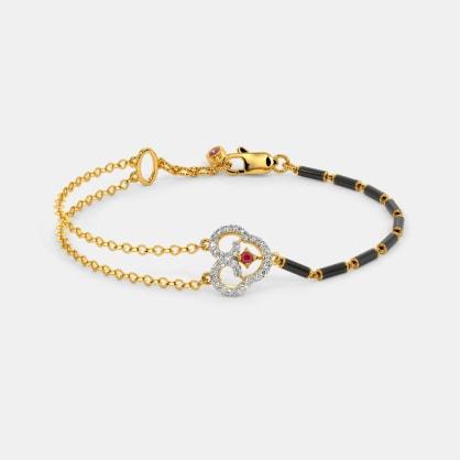 The Noor mangalsutra Bracelet