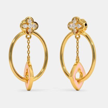 The Pendulous Drop Earrings