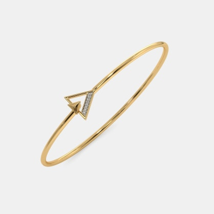 The Adhira Toggle Bangle