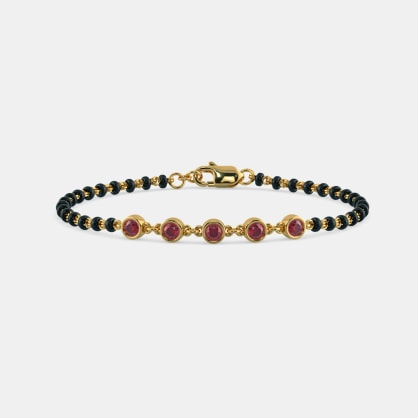 The Holika Mangalsutra Bracelet