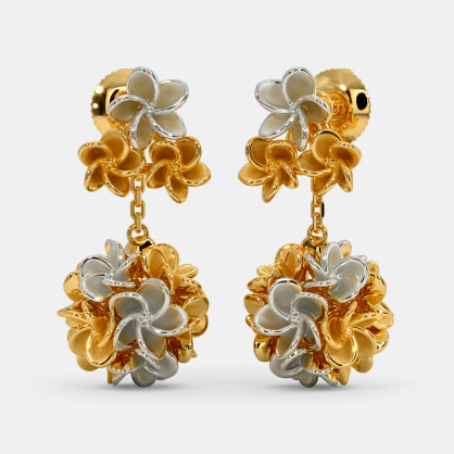 The Hawaiian Lei Drop Earrings