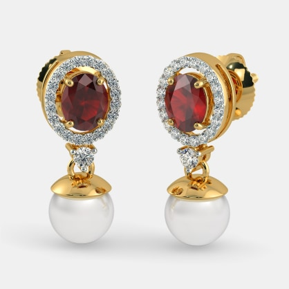 The Fire and Ice Drop Earrings