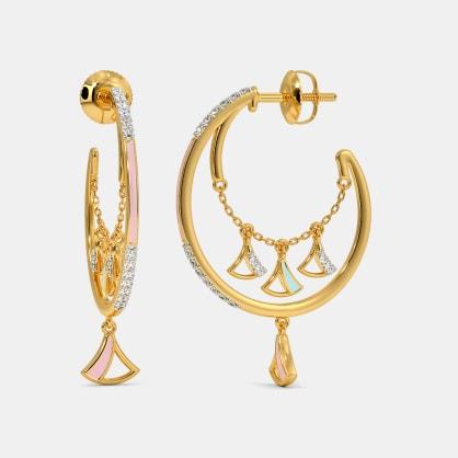 The Nyka Hoop Earrings