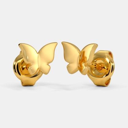 The Laia Multi Pierced Stud Earrings