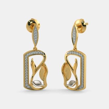 The Crescer Drop Earrings