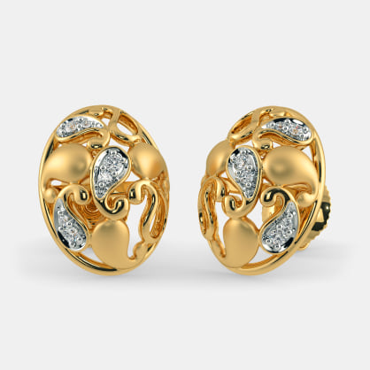 The Abdhija Paisley Stud Earrings