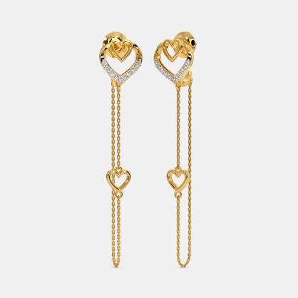The Rukmi Dangler Earrings