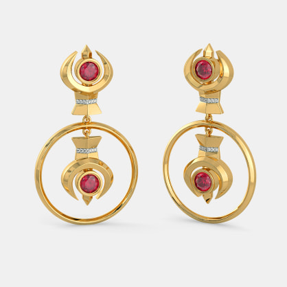 The Enigmatic Femme Drop Earrings