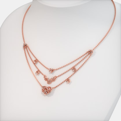 The Rosette Charm Necklace