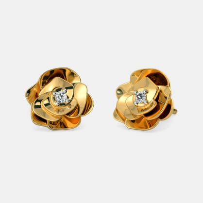 The Timeless Rose Stud Earrings