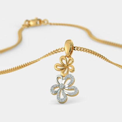 The Twin Flower Pendant