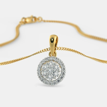 The Caricia Composite Diamond Pendant