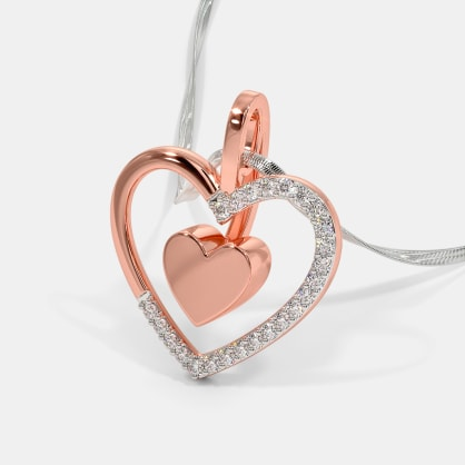 The Lustrous Heart Pendant