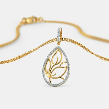 The Wishful Leaves Pendant