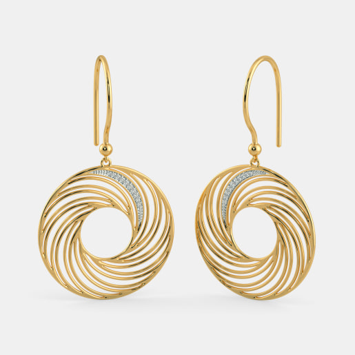 The Alluring Glam Drop Earrings
