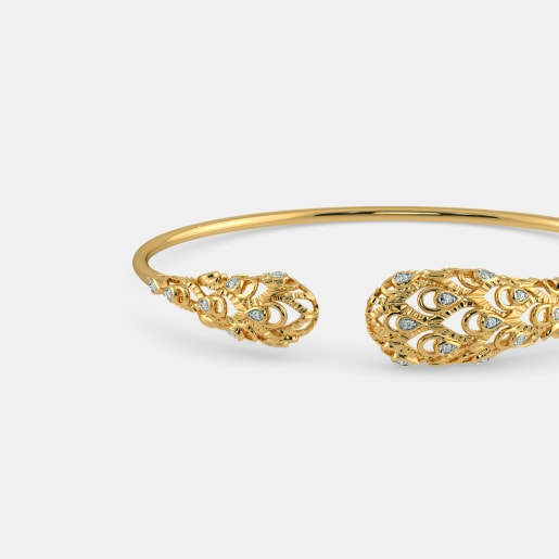d5f9ee7cef Diamond Bangles - Buy 200+ Diamond Bangle Designs Online in India ...