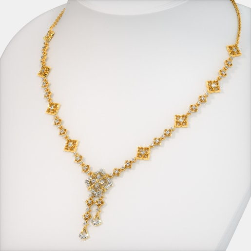 cdc6ad4c6a310 Gold Necklaces - Buy 250+ Gold Necklace Designs Online in India 2019 ...