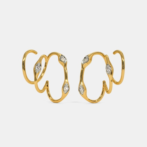 The Fiana Hoop Earrings